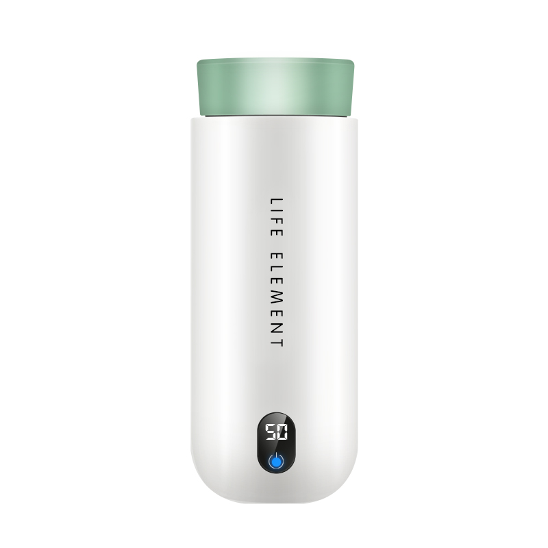 304 Stainless Steel Electric Heating Cup Travel Mug Smart Temperature Display flask bottle Water Bottle